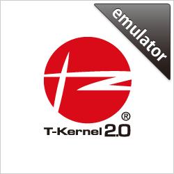 T-Kernel 2.01.03 emulator for tef_em1d