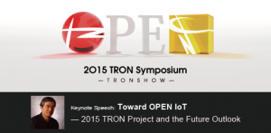 2015 TRON Symposium (TRONSHOW) was held successfully.
