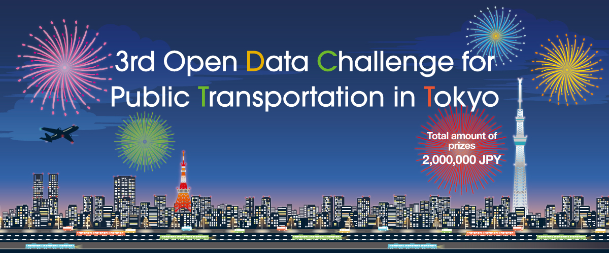 """3rd Open Data Challenge for Public Transportation in Tokyo"" Award Ceremony was held"
